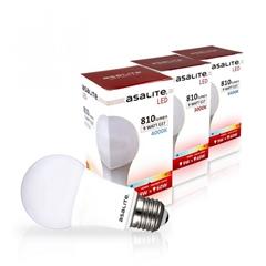 LED sijalka Asalite E27, 9W, 6500K