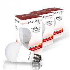 LED sijalka Asalite E27, 15W, 6500K