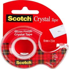 Lepilni trak Kristal z držalom 6-1975D 3M Scotch, 19 x 7,5 mm