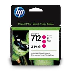 Kartuša HP 3ED78A nr.712 (škrlatna), trojno pakiranje, original