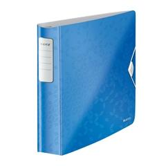 Mapa A4 PP 4-obroči wow Active Leitz, trde platnice, modra