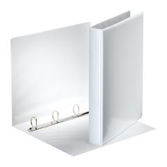 Mapa A4 PP 4-obroči Esselte, 40 mm, trde platnice, bela