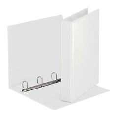 Mapa A4 PP 4-obroči Esselte, 50 mm, trde platnice, bela