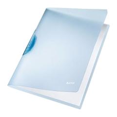 Mapa A4 PP spenjalna Leitz, modra