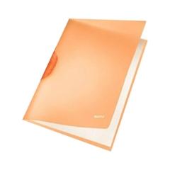 Mapa A4 PP spenjalna Leitz, oranžna