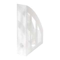 Namizni predalnik A4 Herlitz pokončen, translucent, bel