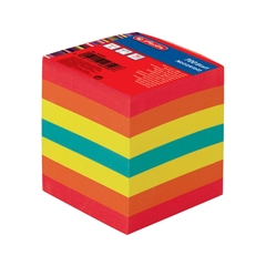 Papirna kocka Herlitz, 9 x 9 x 9 cm, 800 listna, barvna