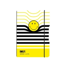 Zvezek A5 Flex Smiley B&Y Stripes, 40 listov, karo