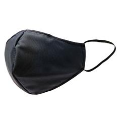 Higienska pralna modna maska, L-XL, črna
