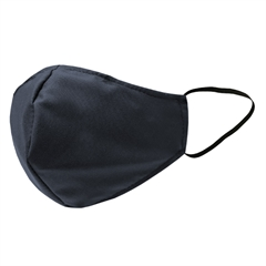 Higienska pralna modna maska, L-XL, temno modra