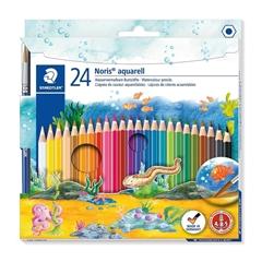 Akvarelne barvice Staedtler Noris ABS, 24 kosov