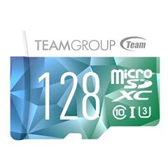 Spominska kartica Teamgroup Color Card II microSD, 128 GB + SD Adapter