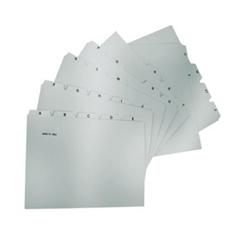 Ločilni listi za kartotečne kartice Han, A6