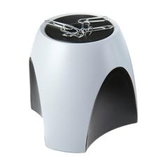 Magnetna posodica sponke Han Delta, sivo črna
