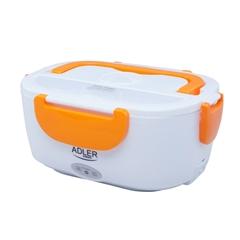 Električna posoda za malico Adler, 1.1 L, oranžna