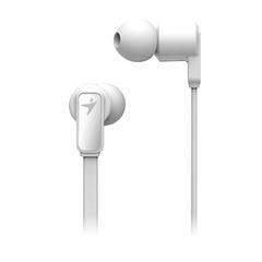 Ušesne slušalke z mikrofonom Genius HS-M260, žične, bele