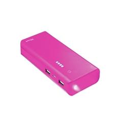 Prenosna baterija (powerbank) Trust (10.000 mAh), roza