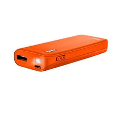 Prenosna baterija (powerbank) Trust (4400 mAh), neon oranžna