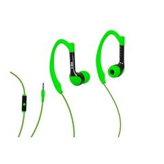 Slušalke SBS, športne, zelene