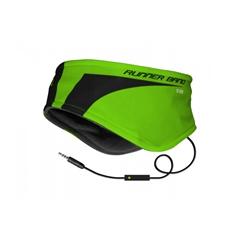 Trak za ušesa s slušalkami SBS, zelen