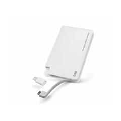 Prenosna baterija (powerbank) SBS (3000 mAh), bela