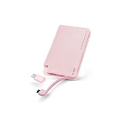 Prenosna baterija (powerbank) SBS (3000 mAh), roza
