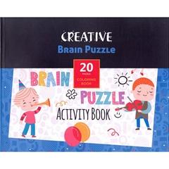 Knjiga Creative z nalogami za spodbujanje otroških spretnosti, 20 listov