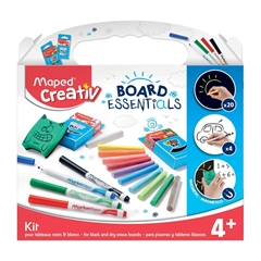 Set za ustvarjanje Maped, kreda&flomastri