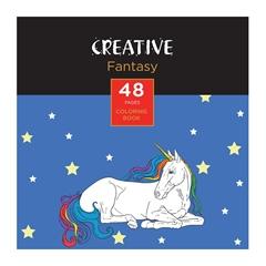 Pobarvanka Creative, Mini, 48 listov