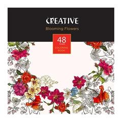 Pobarvanka Creative, Cvetje, 48 listov