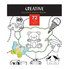 Pobarvanka Creative, Pobarvaj in riši, 72 listov