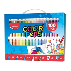 Set za barvanje Maped, 100 kosov