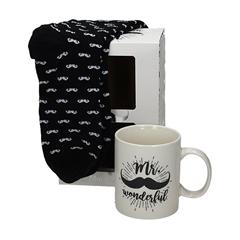 Set nogavic in skodelice Mr. Wonderful, moški