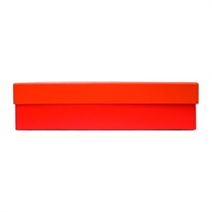 Darilna škatla, 35 x 24 x 8 cm, rdeča