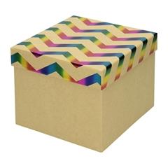 Darilna škatla Creative, 16 x 16 x 13 cm, eko