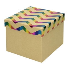 Darilna škatla Creative, 22 x 22 x 16 cm, eko