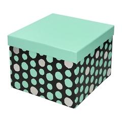 Darilna škatla Creative, 22 x 22 x 16 cm, pike