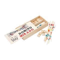 Družabni igri, Domino + Mikado