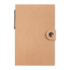 Beležnica s samolepilnimi lističi in kemičnim svinčnikom, eko