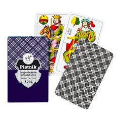 Igralne karte Piatnik Šnops DD Karo NO.1760, 24 kosov