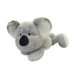 Plišasta igrača, ležeča koala, 20 cm, siva