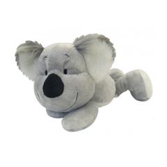 Plišasta igrača, ležeča koala, 30 cm, siva