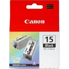 Poškodovana embalaža: kartuša Canon BCI-15BK (črna), dvojno pakiranje, original