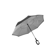 Dežnik Reverse, sivo črn
