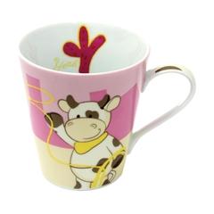 Skodelica krava Maron, porcelan