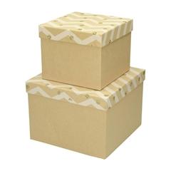 Darilna škatla Creative, z bleščicami, 2 kosa