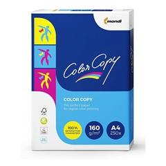Fotokopirni papir Mondi Color copy, A4, 250 listov, 160 gramov