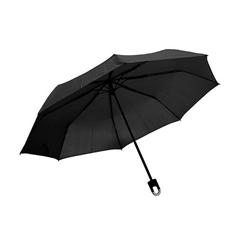 Zložljiv dežnik Silas, črn