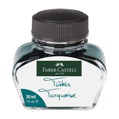 Črnilo Faber-Castell 30 ml, turkizno