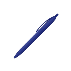 Kemični svinčnik Visby, gumiran, moder